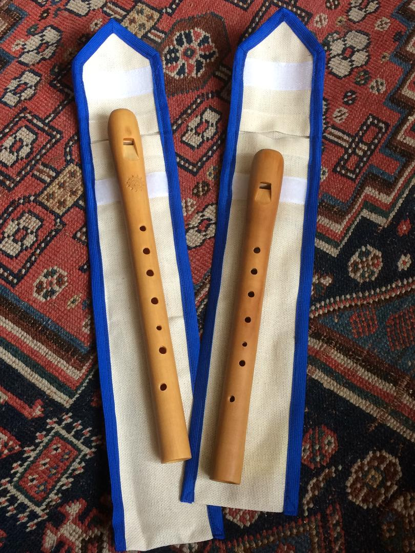 Hand made recorder